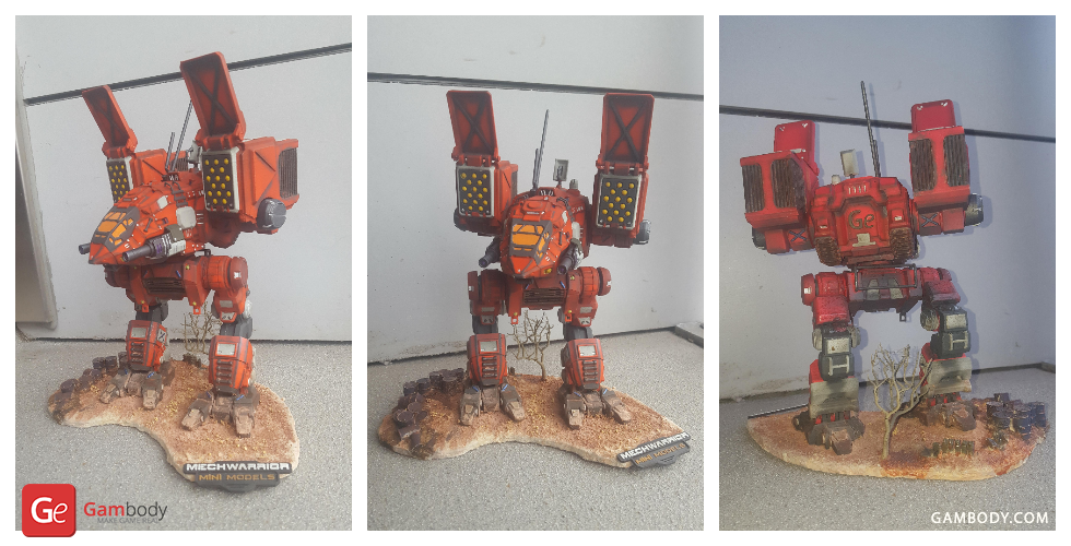 MechWarrior Catapult 3D Print Model - MWO 3D Models for Sale | Gam