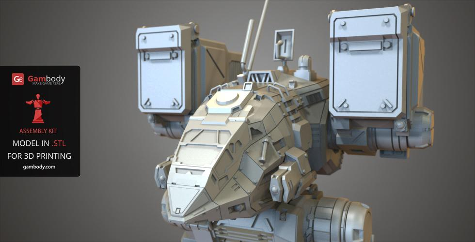 Mechwarrior Catapult 3d Print Model Mwo 3d Models For