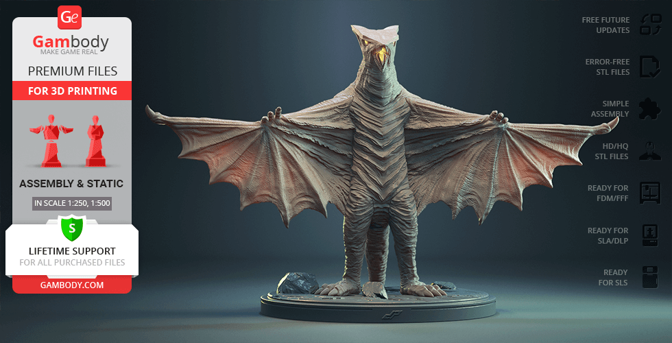 Buy Gyaos 3D Printing Figurine | Assembly
