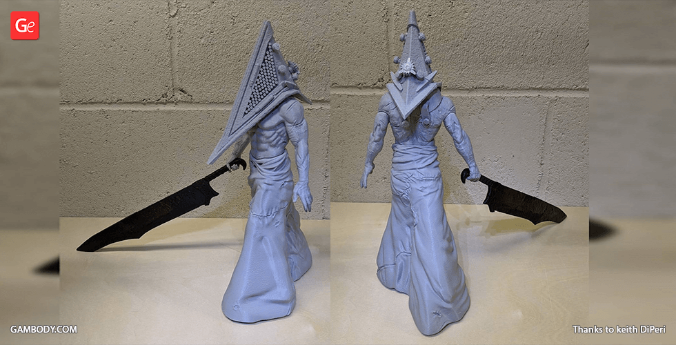 Buy Pyramid Head 3D Printing Figurine | Assembly